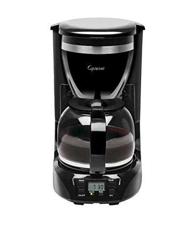 Jura-Capresso 12-Cup Drip Coffee Maker, Black/Stainless Steel