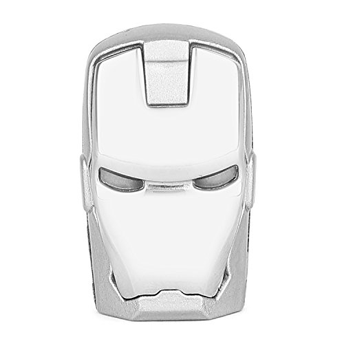 ENRG Pen Drive 8 GB Iron Man Silver Face  available at amazon for Rs.499