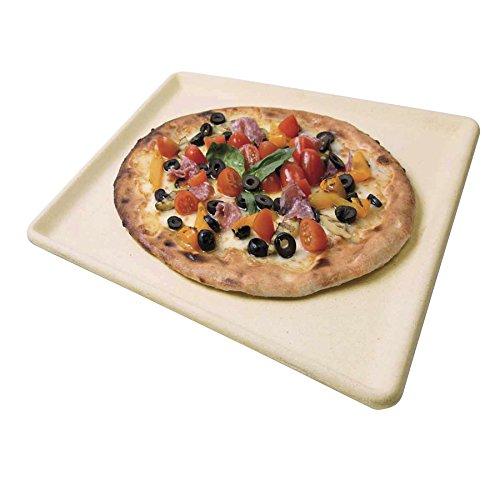 TRABO Set Pizza Naturpala + Piastra Refrattaria Naturcook + Tagliapizza BMAXIS