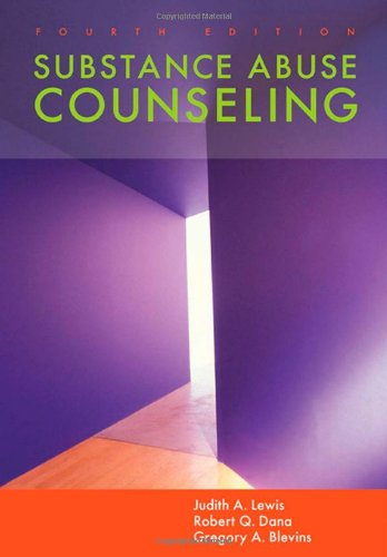 Substance Abuse Counseling (Sw 393R 23-Treatment Of Chemical Dependency)