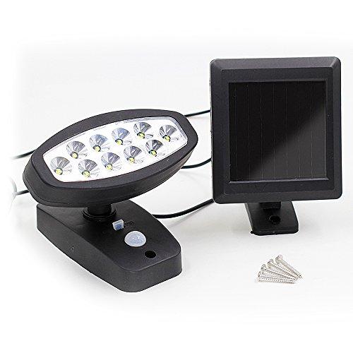 BAYTTER-10-LED-Solarleuchte-LED-Strahler-Auenbeleuchtung-fr-Garten-Hof-Balkon-usw-Solarlampe-mit-Bewegungsmelder-Wasserdicht-IP44-drehbarer-Winkel-von-180-1-Stck