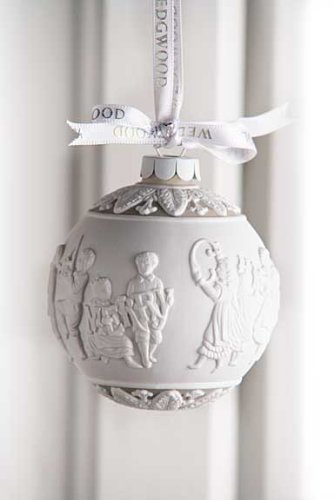 Wedgwood Merry Christmas Ornament