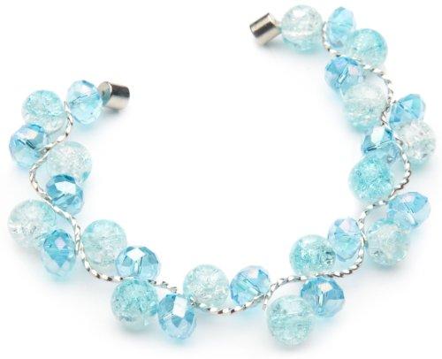 千禧福临-施华洛士奇水晶材质手链-海岛之恋(浅蓝)