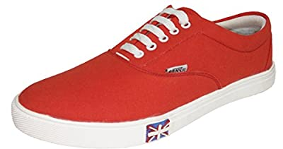 vogue stack men's red funky casual shoes(127)