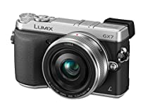 Panasonic LUMIX GX7 16.0 MP DSLM Camera with LUMIX G 20mm F1.7 II ASPH Lens and Tilt-Live Viewfinder (SILVER)