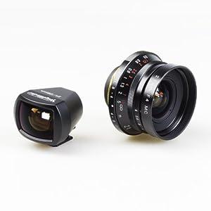Amazon.com : Voigtlander 21mm f/4 Black Color Skopar Screw