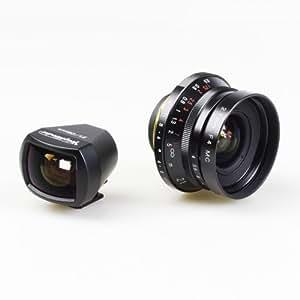 Voigtlander Objectif F4,0/21mm D39 + Viseur Color Skopar Noir
