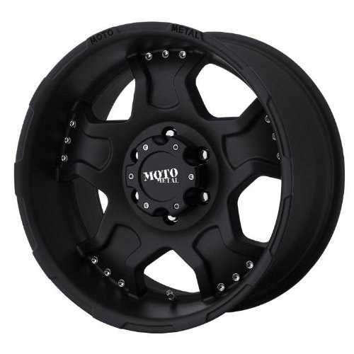 Moto Metal Series MO957 Matte Black - 17 X 9 Inch Wheel