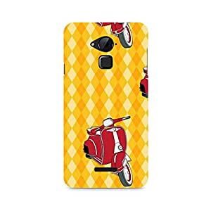 Ebby Vespa Love Premium Printed Case For Coolpad Note 3