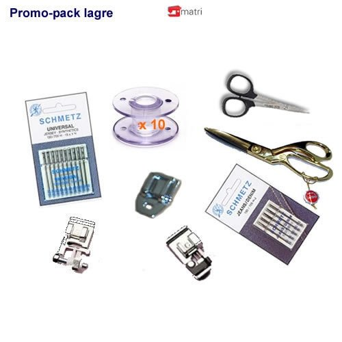 Pack Promo Large pour machine à coudre