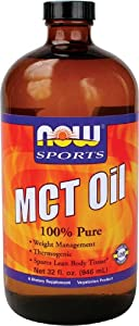 MCT Oil, 100 % Pure, 32 fl. oz. (946 ml)