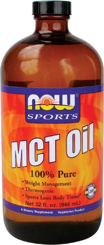 NOW Foods Mct 100% Oil, 32-Fluid Ounces (Mct Oil Pharmaceutical Grade compare prices)