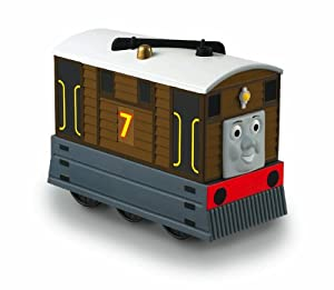 : Thomas the Train: TrackMaster Preschool Talking Toby: Toys & Games