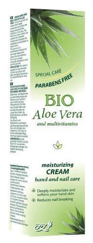 Crema Idratante Mani e unghie con Aloe Vera Bio Senza parabeni