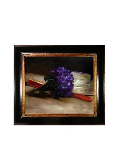 """Édouard Manet """"Bouquet of Violets"""" Reproduction Oil On Canvas"""