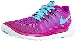 Nike Women\'s Wmns Free 5.0, FUCHSIA FLASH/CLEARWATER-FUCHSIA GLOW, 9.5 M US