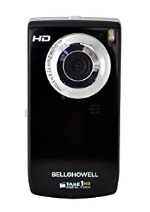 Bell and Howell T100HD-BKTake1 HD Digital Video Camcorder with Flip out LCD Screen, Flip USB and 1.8-Inch LCD (Black)