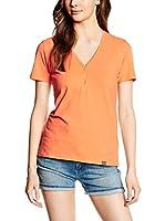 Geox Camiseta Manga Corta (Naranja)