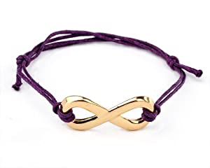 One Direction Fan Purple Handmade Bracelet from Yiwu City Yinuo E-Commercial Business Co.,Ltd
