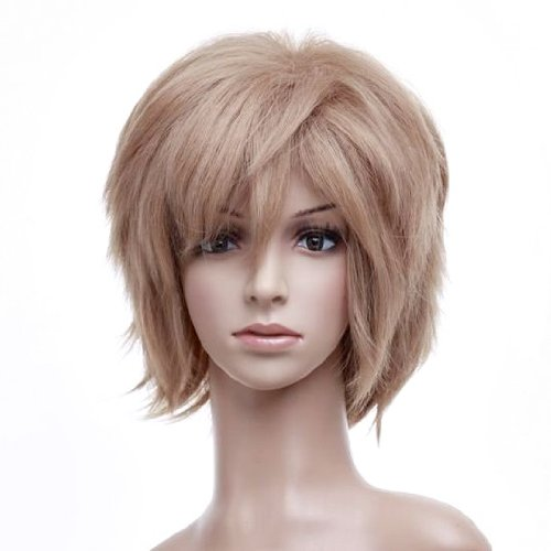 Blonde Anime Cosplay Costume Wig Hair