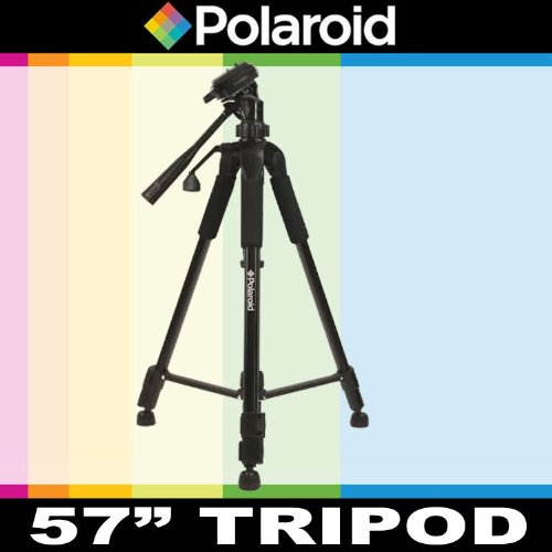 Polaroid 145 Cm Photo / Video Tripod Includes Deluxe Tripod Carrying Case For The Nikon Digital Slr Cameras