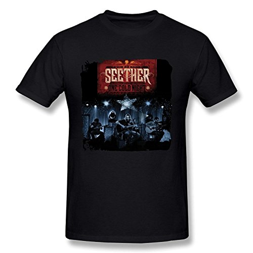 T-Shirt DONVAN Men's Seether One Cold Night T-shirt