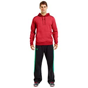 2014 Under Armour ColdGear Charged Cotton Storm Hoody Mens Pullover-Red-Small