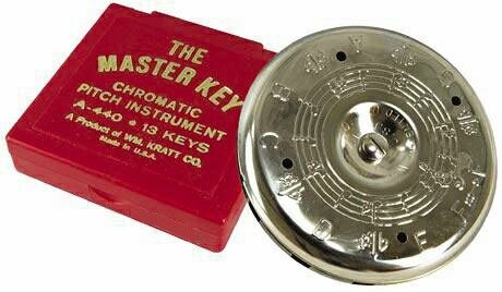Kratt Master Key Pitch Pipe w/ Note Selector