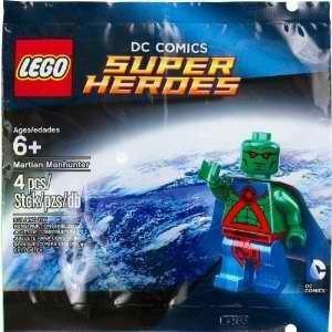 lego dc comics super hero martian manhunter