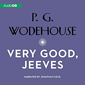 Very Good Jeeves Audiobook