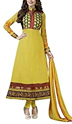 The Magical Thread Women's Georgette Unstitched Dress Material (MR-DN068_Multicolor_Free Size)