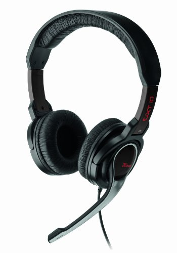 Trust GXT10 Full Size Gaming Headset [UK Import]