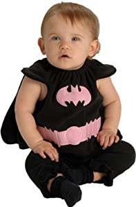Rubies Costume Co The Batman Deluxe Bib Pink And Black Batgirl