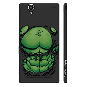 Enthopia Designer Hardshell Case Big Guys Packs Back Cover for Sony Xperia T2 Ultra