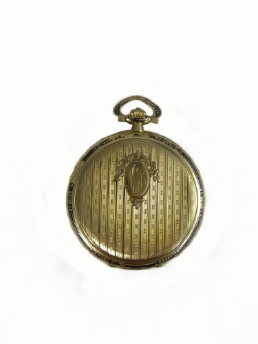 Longines Vintage Pocket watch 18K Gold 16 jewels Extra Unique