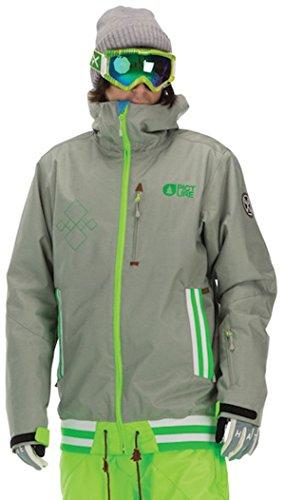 Picture Men's Park Avenue Ski Snowboard Jacket Grey M.vt.026 Large
