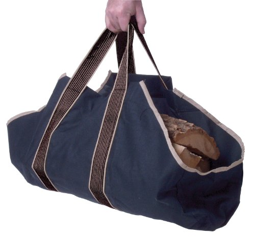 Image of Panacea 15251 Canvas Log Tote, Black