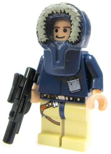 Han Solo (Hoth) - LEGO Star Wars Minifig - 1