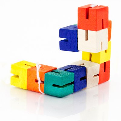The Training Shop Pack Of 4 Twist And Lock Blocks