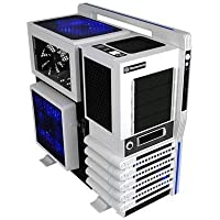 Thermaltake LEVEL 10 GT Snow Edition Super Gaming Modular Full Tower Computer Case (Black/White)