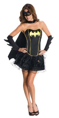 Batgirl Corset Costume and Tutu for Ladies