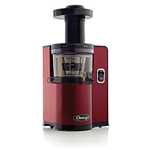 Great Features Of Omega VERT Slow Juicer VSJ843QR, Square Version, Red