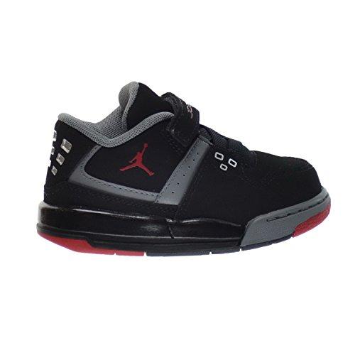 Nike Toddler Boy Jordan. Flight 23 Sneaker Black/Red (8C)