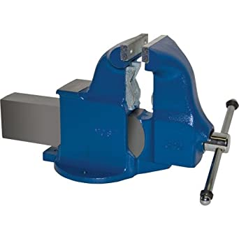 "Yost Vises 134C 6"" Combination Pipe and Bench Vise with Stationary Base, Made in US"