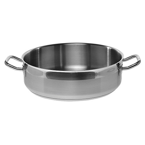 HUBERT® Brazier Pan Stainless Steel 17 qt