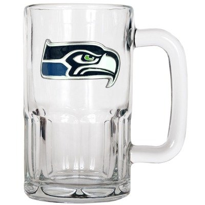 NFL Seattle Seahawks 20-Ounce Root Beer Style Mug - Primary Logo at Amazon.com
