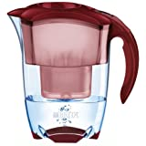 BRITA Elemaris Cool Royal Red Water Filter Jugby Brita