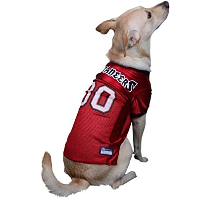 NFL Tampa Bay Buccaneers Red Mesh Pet Football Jersey
