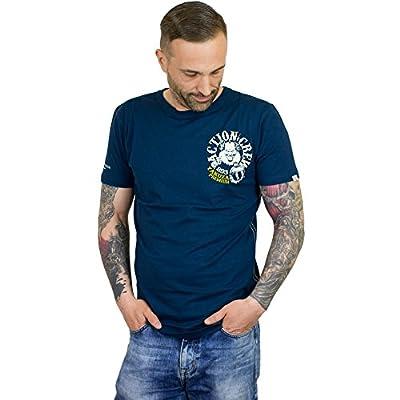 Yakuza Premium T-Shirt Action Crew dunkelblau