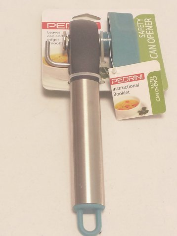 Pedrini Safety Can Opener - Blue